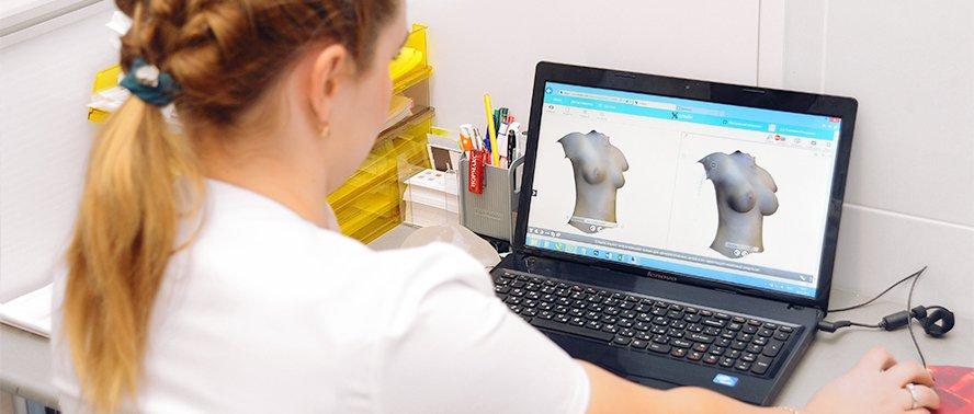 3D-моделирование груди